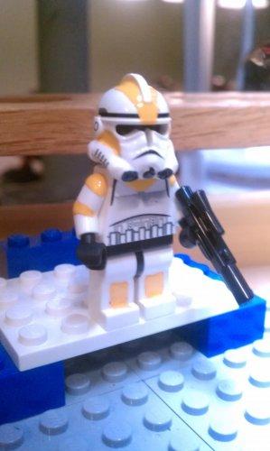 Lego Star Wars Custom Commander Waxer Phase 2 Armor Clone Wars Trooper
