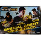 Spy Net Special Agent Triple Pack with Voice Changer, Invisible Ink Pen, and Motion Detector Alarm