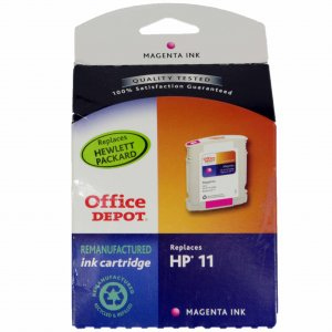 Office Depot HP 11 ink tank cartridge C4837A - Magenta