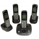 Panasonic KX-TG6431PK DECT 6.0 Cordless Phone with 4 Handsets