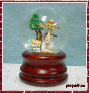 Mexican Snowman - Mini Water Globe