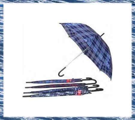 Lot Of 10 Multi-Colored Checkered / Plaid Umbrellas