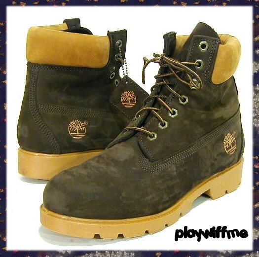 Timberland Men's Basic Work Boots - Size 8 Medium