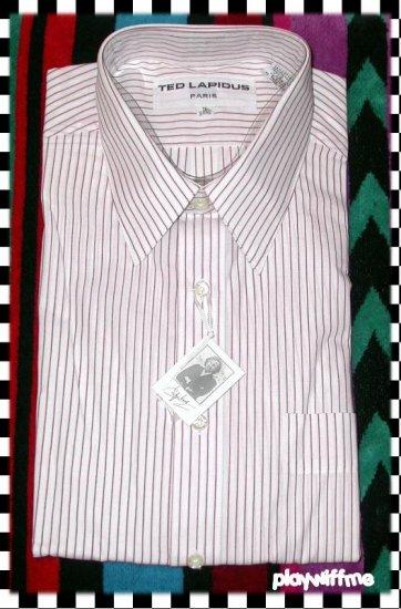 Ted Lapidus Paris Men's Dress Shirt - 16 34/35 - NEW