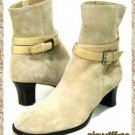 Taryn Rose Beige Ankle Boots - Size 7 Medium