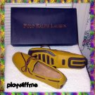 Polo Ralph Lauren Yellow Henley Camp Moc Shoes 10D