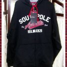 SouthPole Men's Sweatshirt Zippered Hoody Jacket- Large