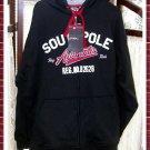 SouthPole Men's Sweatshirt Zippered Hoody Jacket- Large
