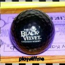 Black Velvet Canadian Whisky Black Logo Golf Ball - New
