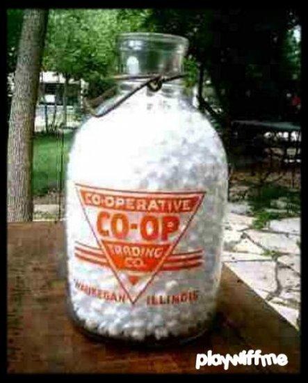 Co-Operative Trading Co. - Waukegan IL - One Gallon Milk Bottle