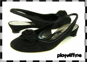 Ann Klein Women's Black Dress Shoes - Size 6 Medium