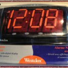 Westclox Triad Alarm Clock - New