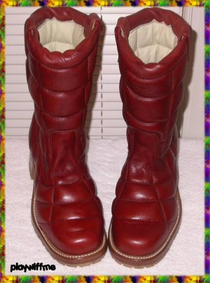 Vintage Men's Leather & Insulated Boots - Size 10D - NIB
