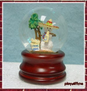 Mexican Snowman - Mini Water Globe - Case Of 48