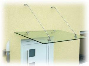 Modern Glass Awning System