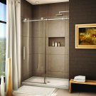 Brushed Stainless Steel Frameless Sliding Shower Door Hardware