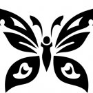 Butterfly Custom Vinyl Sticker Decal 002, Car Decal, Bumper Sticker, Laptop Decal, Window Sticker