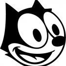 Felix Cat Custom Made Vinyl Sticker Decal,Car Decal, Bumper Sticker, Laptop Decal, Window Sticker
