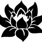Lotus Custom Vinyl Sticker Decal 003, Car Decal, Bumper Sticker, Laptop Decal, Window Sticker