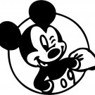 Custom Mickey Mouse Vinyl Sticker Decal, Car Decal, Bumper Sticker, Laptop Decal, Window Sticker