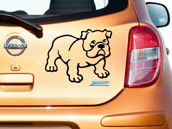 Bulldog Custom Made Vinyl Sticker Decal, Car Decal, Bumper Sticker, Laptop Decal, Window Sticker