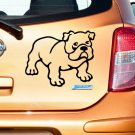 Bulldog Custom Made Vinyl Sticker Decal, Car Decal, Bumper Sticker, Laptop Decal, Window Sticker