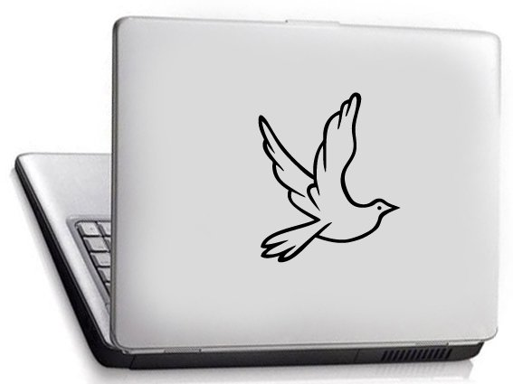 Dove Custom Vinyl Sticker Decal, Car Decal, Bumper Sticker, Laptop Decal, Window Sticker