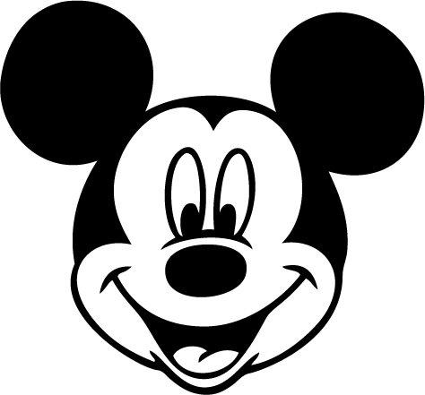 Mickey Mouse Vinyl Sticker Decal 567, Car Decal, Bumper Sticker, Laptop Decal, Window Sticker