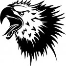 Eagle Custom Made Vinyl Sticker Decal 0045, Car Decal, Bumper Sticker, Laptop Decal, Window Sticker