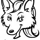 I'm Sexy Fox Custom Vinyl Sticker Decal, Car Decal, Bumper Sticker, Laptop Decal, Window Sticker