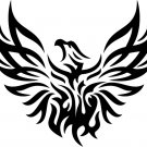 Phoenix Custom Vinyl Sticker Decal 003,Car Decal, Bumper Sticker, Laptop Decal, Window Sticker