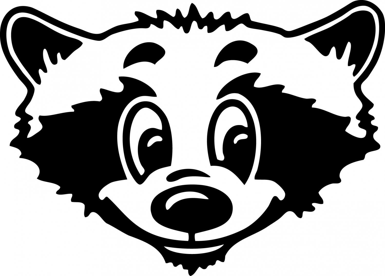 Raccoon Custom Made Vinyl Sticker Decal, Car Decal, Bumper Sticker, Laptop Decal, Window Sticker