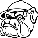 Bulldog 02 Custom Vinyl Sticker Decal, Car Decal, Bumper Sticker, Laptop Decal, Window Sticker