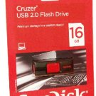 SanDisk Cruzer 16GB USB flash drive