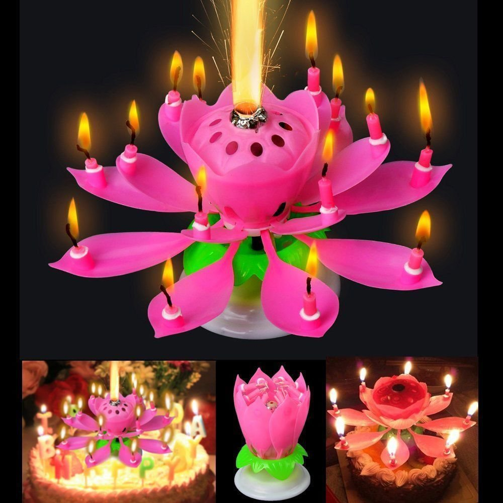 The Amazing Singing Birthday Candle Musical Magical Happy