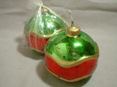 2 - Christmas Candles
