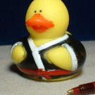 Karate Rubber Ducky with Red Belt