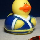 Karate Rubber Ducky with Yellow Belt