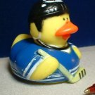 Hockey Rubber Ducky with Blue Outfit