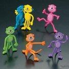 12 Bendable Monkeys (1 doz.)