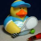 Tennis Rubber Ducky - Blue