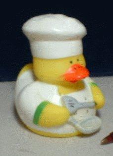 Chef Rubber Ducky - Breakfast