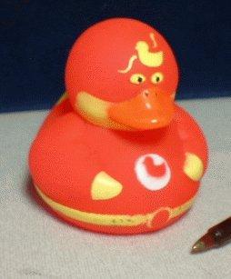 Super Hero Rubber Ducky - Red Devil