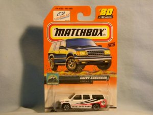 Matchbox Chevy Suburban