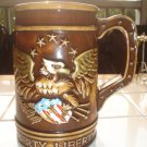 Vintage Patriotic Liberty Eagle Stein by Inarco Made in Japan