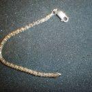VTG .925 Sterling Silver Ladies Bracelet Snake Link