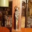 Rare Antique Catholic Church Relic St Joseph Statue holding Jesus