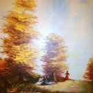 Beautiful Oil Painting Signed Bromley