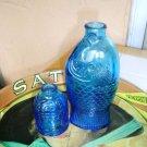 Vintage Colbalt Blue Wheaton Medicine Bottles