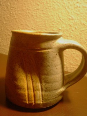 Vintage Studio Stoneware Artisan Pottery Mug